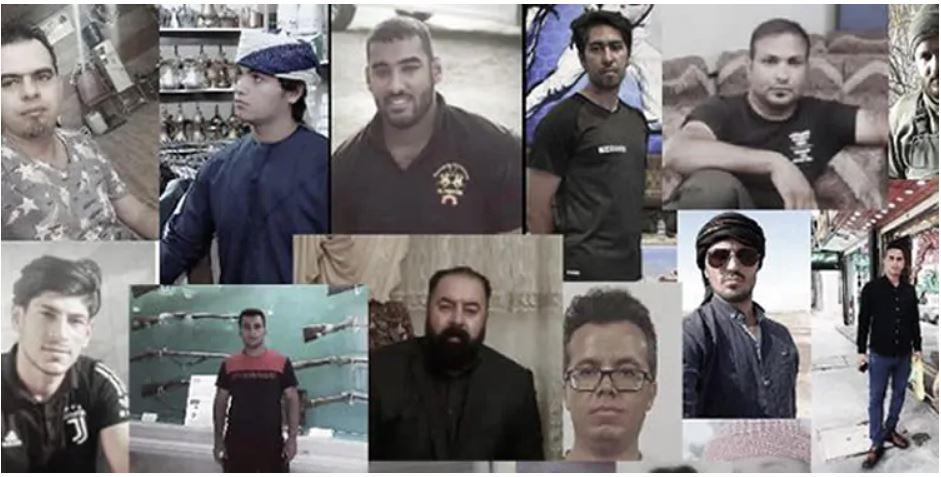 Khuzestan protest detainees