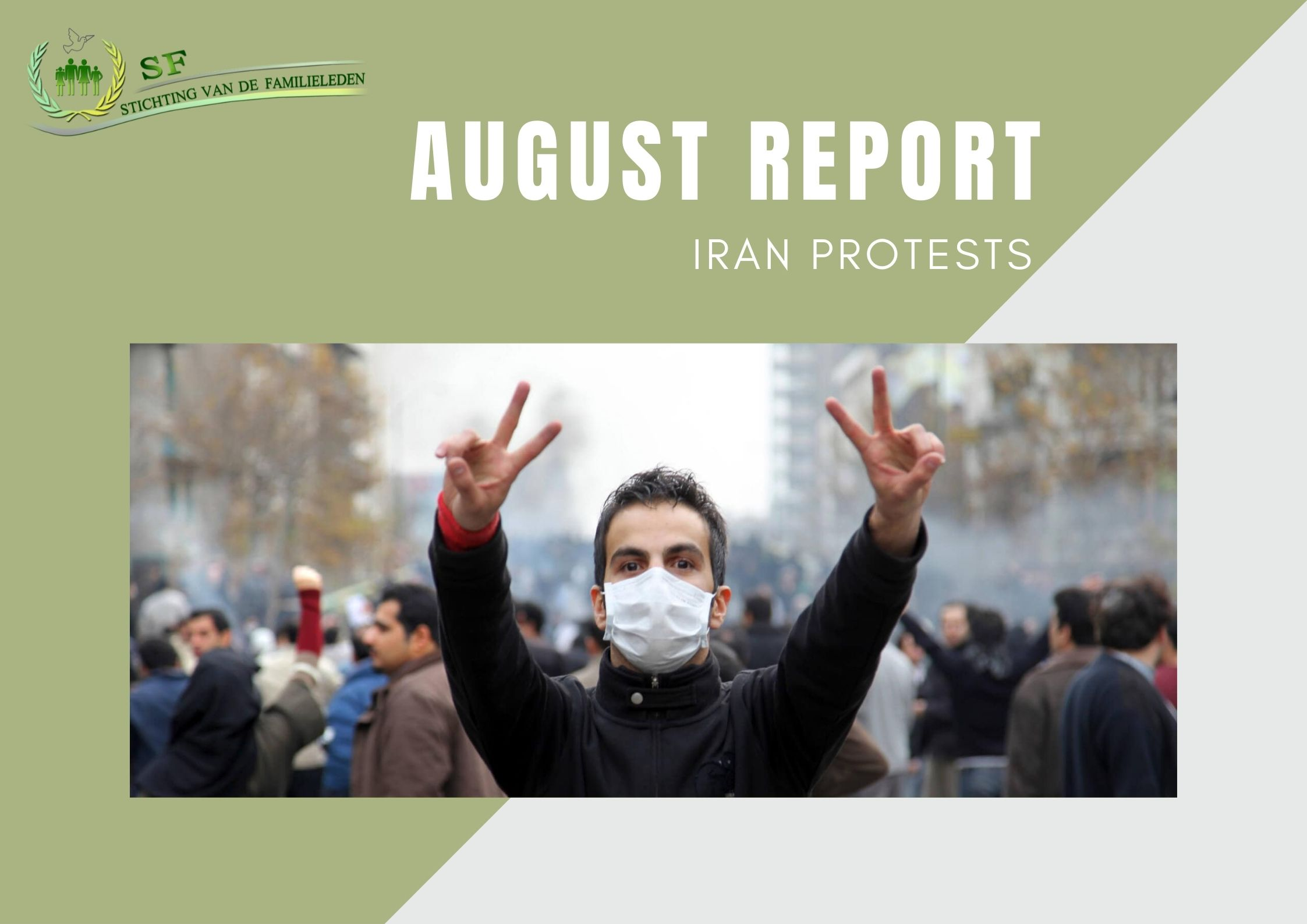 August report - protests in Iran