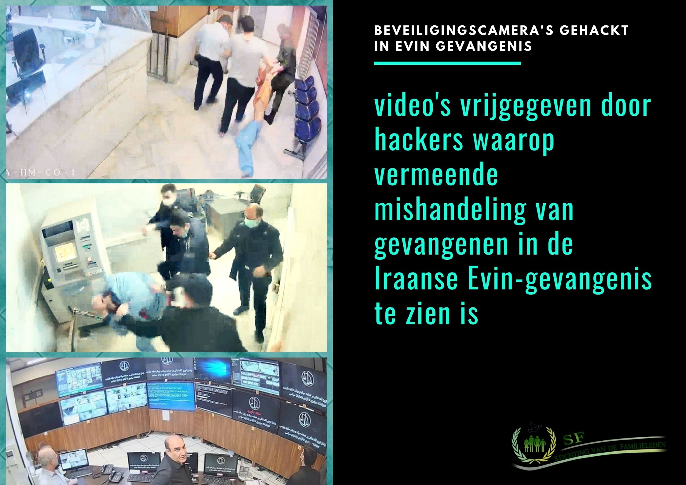 hacked security cameras-Evin prison