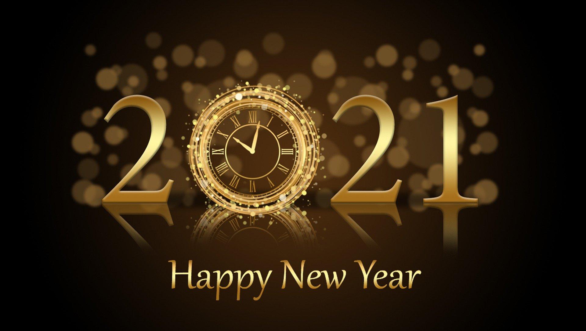 New year 2021 - Stichting van de familieleden